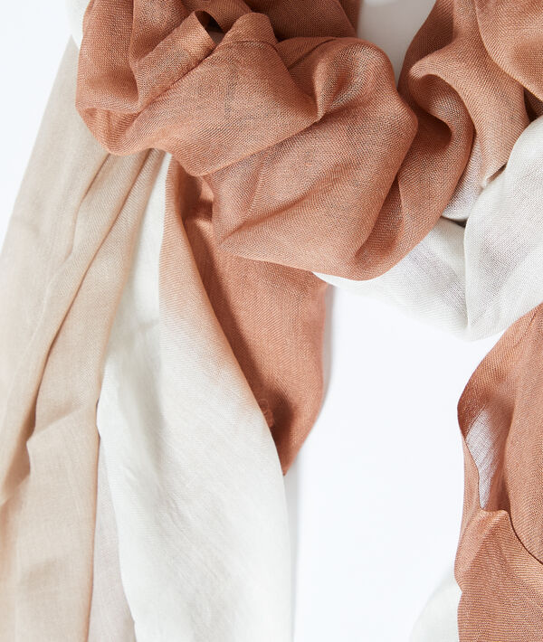 Pañuelo estampado tie dye