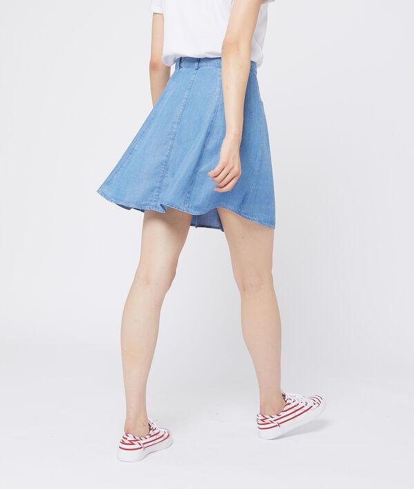 Falda de patinadora de Tencel