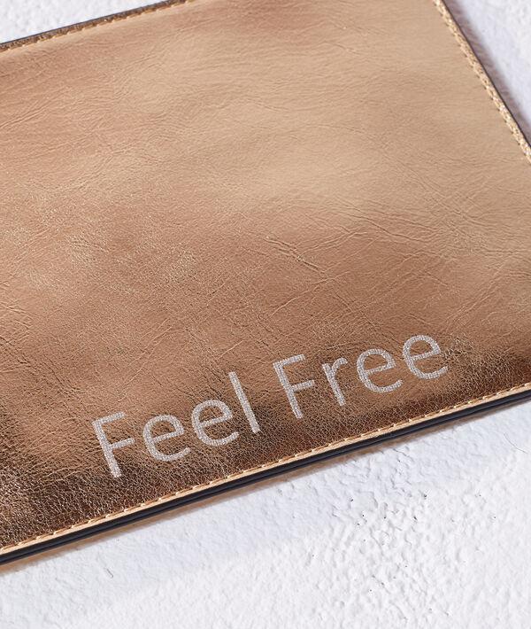 Bolso tipo cartera 'feel free'
