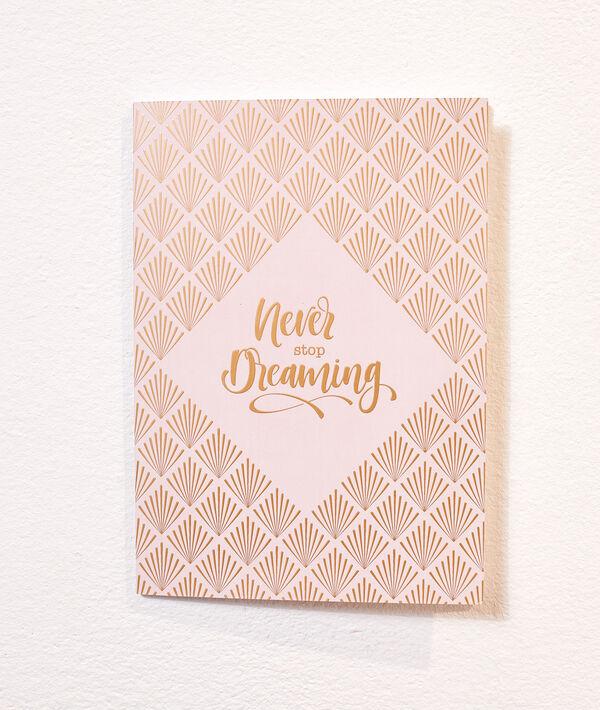Cuaderno 'idées brillantes'