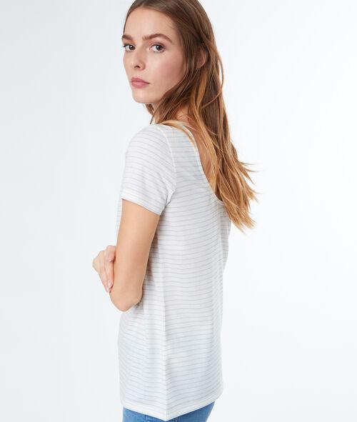 Camiseta estampado a rayas