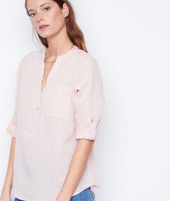Camisa manga 3/4 escote en v c.nude.