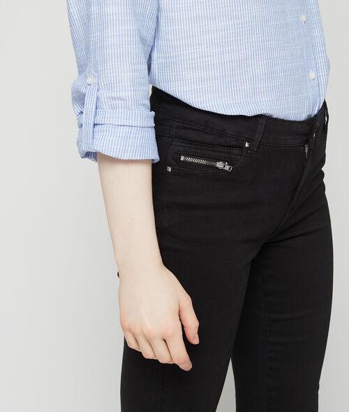 Pantalón ajustado 100% en algodón
