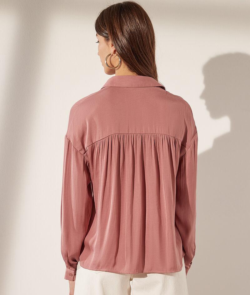 Camisa de satén