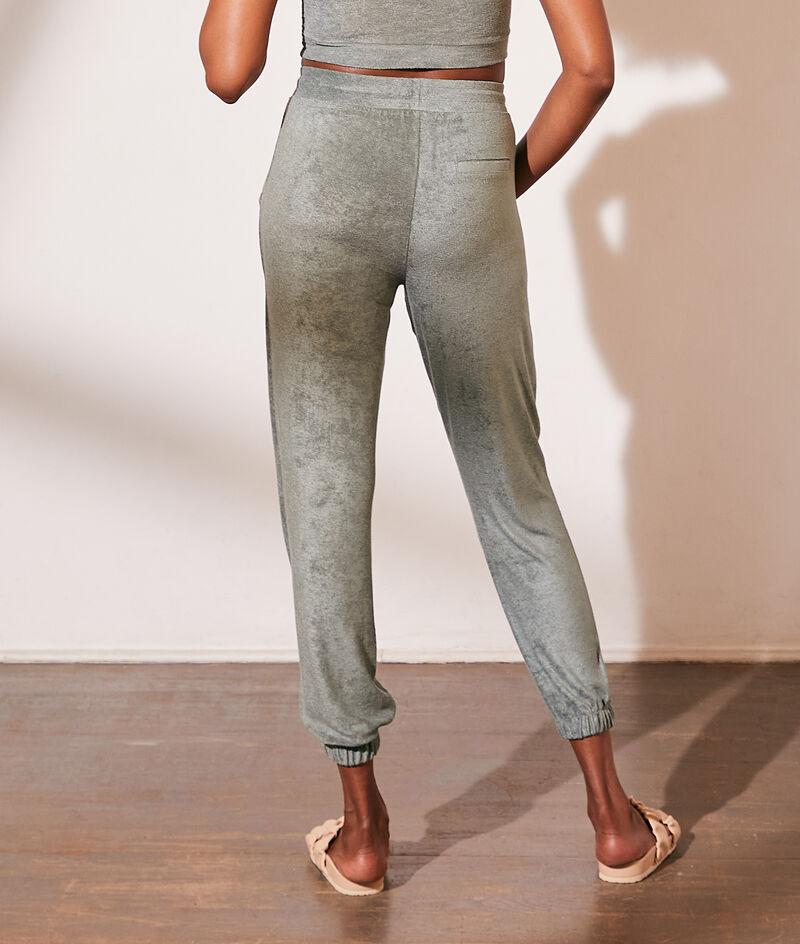 Pantalón jogger, tejido esponja