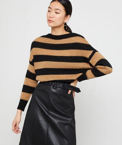 Jersey estampado de rayas
