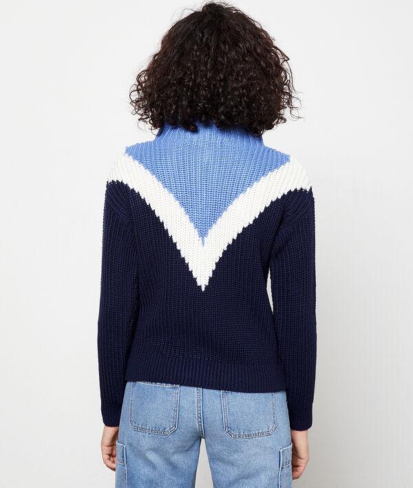 Jersey cuello cremallera