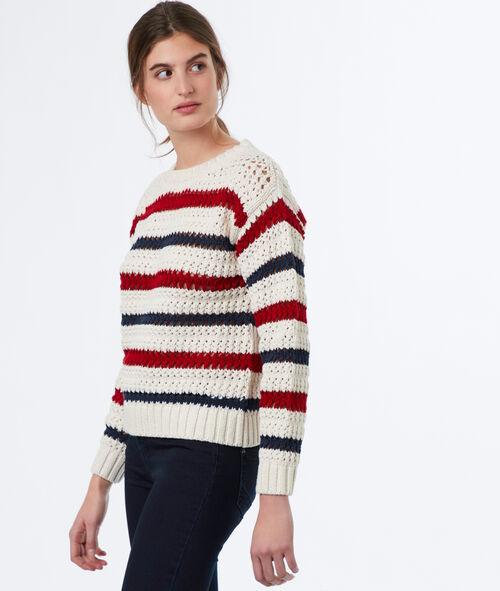 Jersey tricotado de rayas