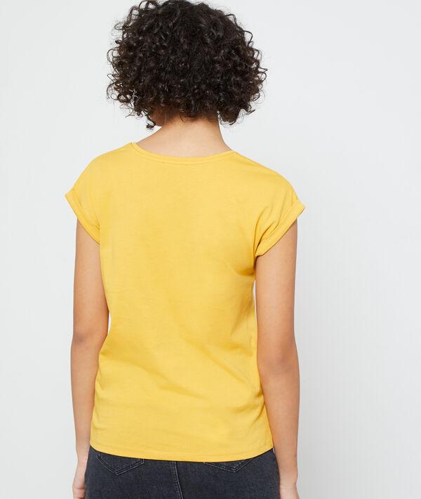 Camiseta de algodón bio 'Love, believe'