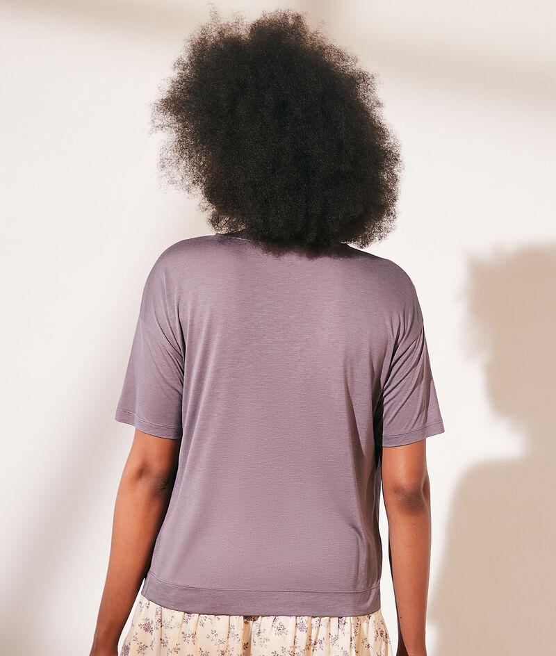 Camiseta escote redondo