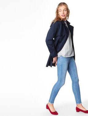 Jean skinny denim.