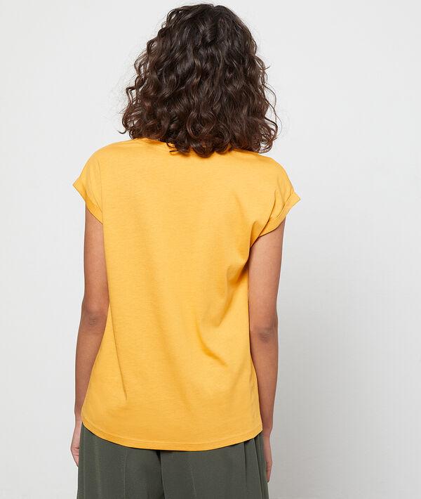 Camiseta serigrafiada leopardo