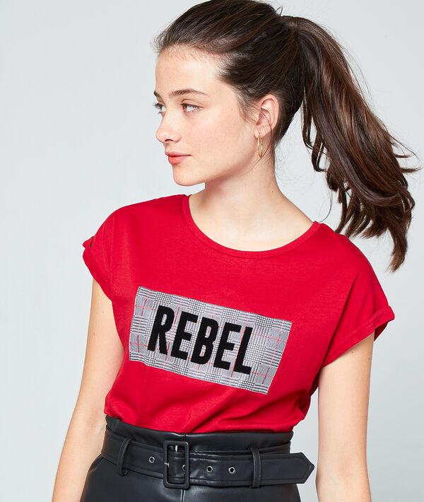Camiseta 'rebel' de algodón bio