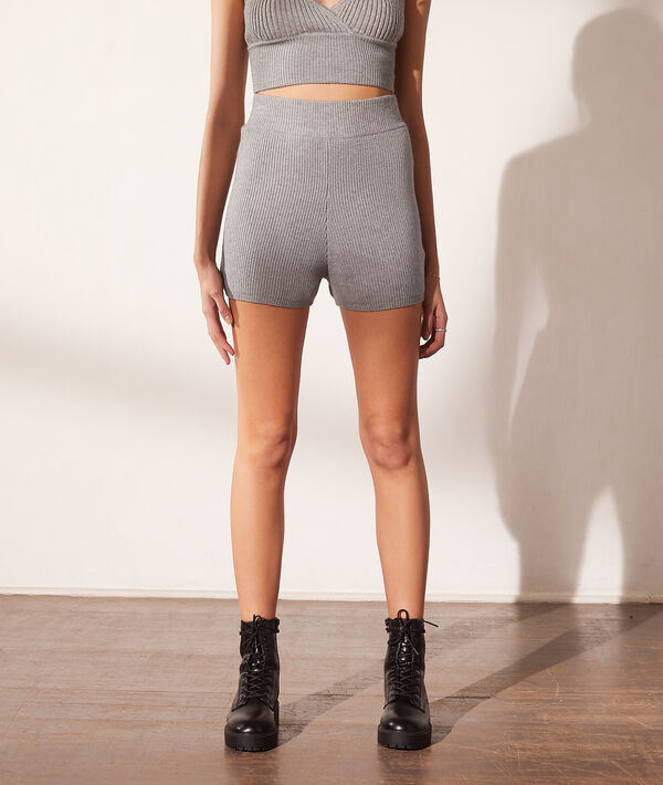 Pantalón corto de punto