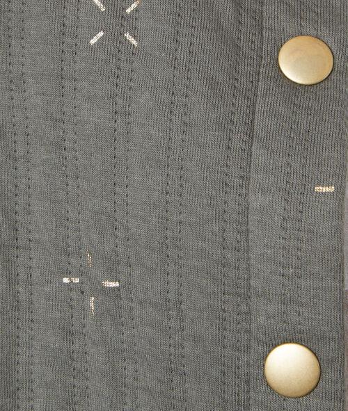 Gilet manches longues en coton