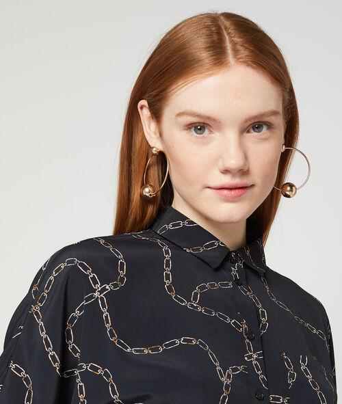 Camisa estampado de cadenas
