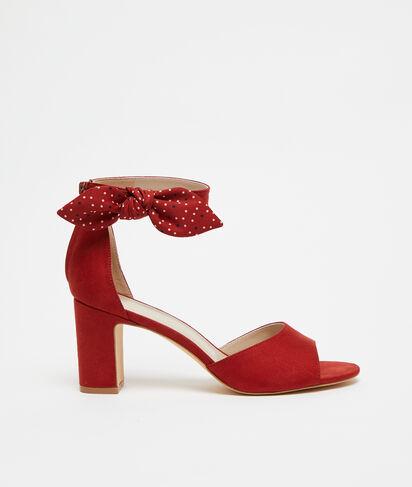 Sandales nouées à talons