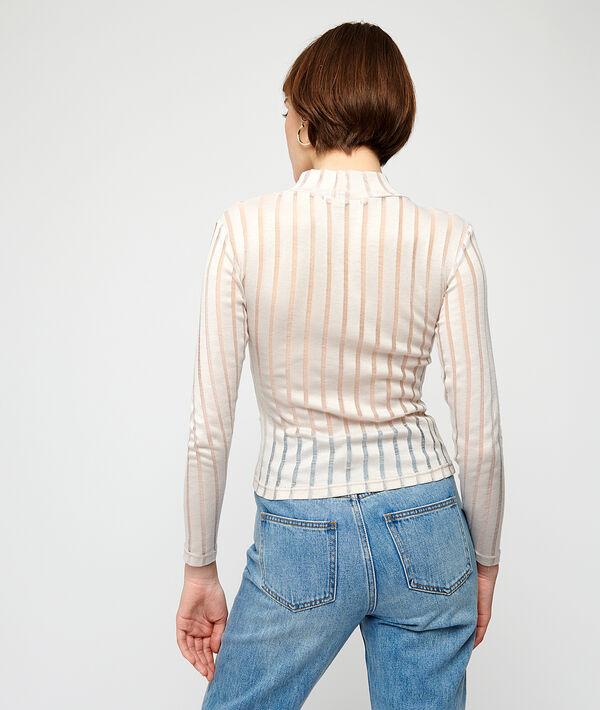 Camiseta a rayas transparentes