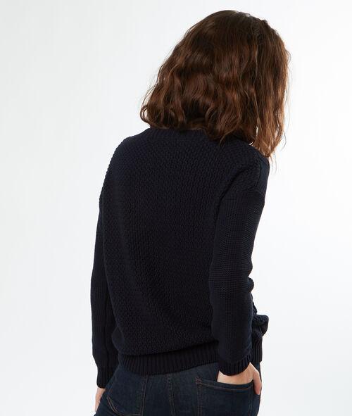 Jersey de punto cuello redondo