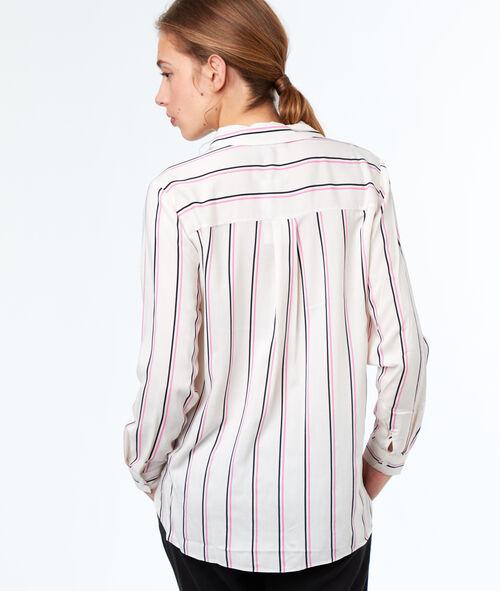 Blusa estampada a rayas