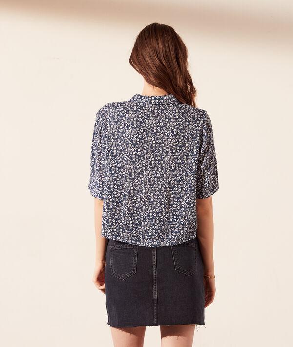 Camisa manga corta, estampado floral