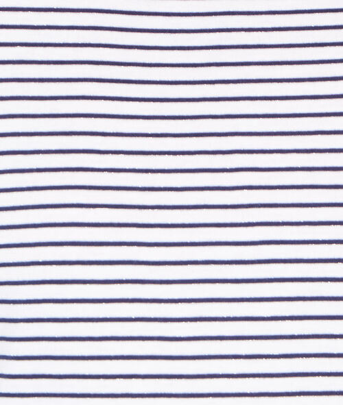Camiseta manga 3/4 con cuello redondo