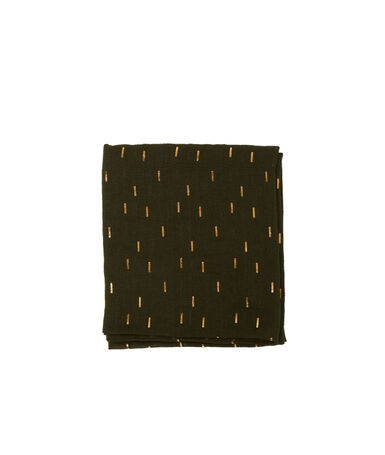 Pañuelo estampado olive.