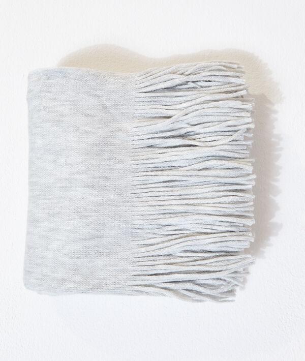 Bufanda hilos metalizados