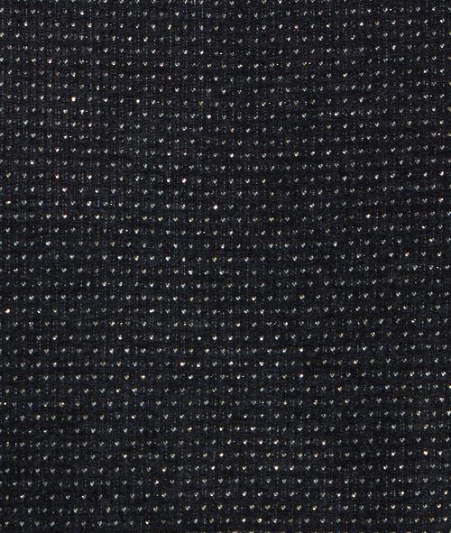 Sudadera manga 3/4 de lúrex estampado a lunares
