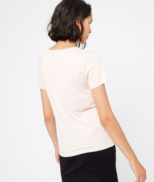 Camiseta bordada 'Dancing in the dark'