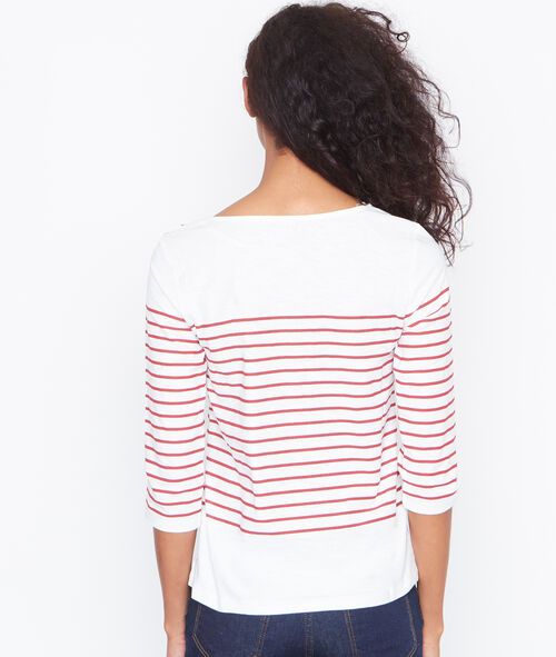Camiseta estilo marinero