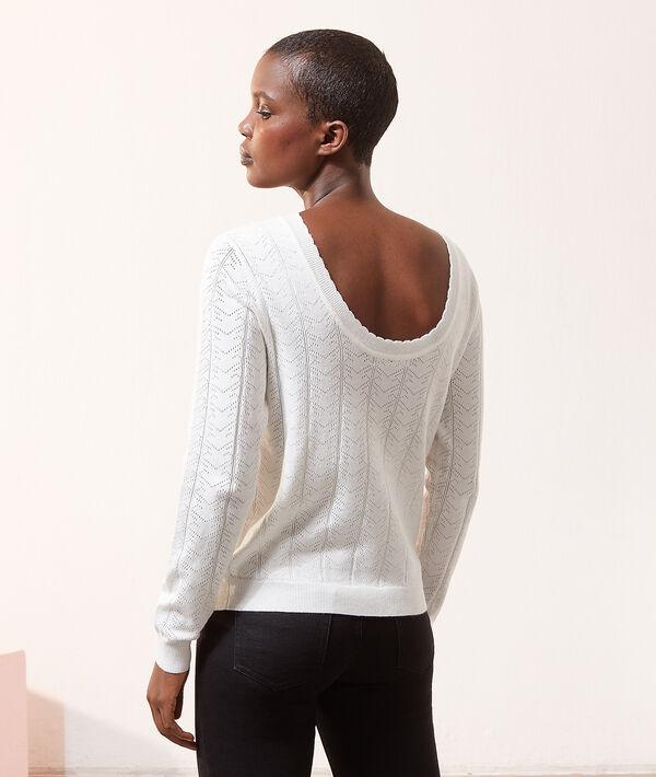Jersey escote espalda