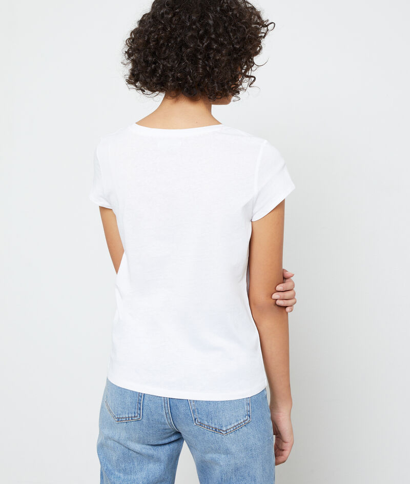 Camiseta de algodón bio 'Frenchie'