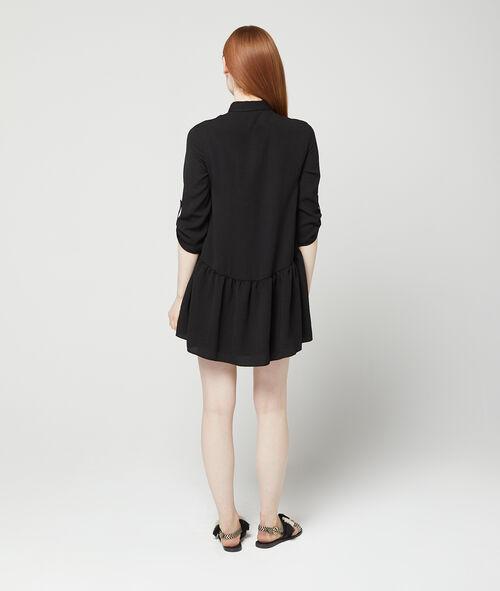 Vestido camisero holgado