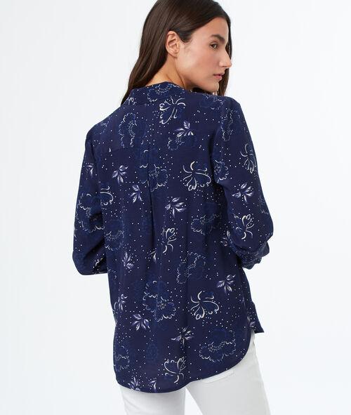 Camisa motives florales