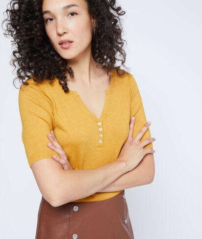 Suéter de manga corta