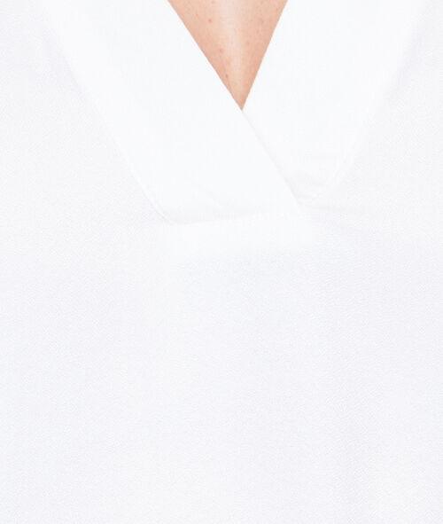 Camisa escote en V