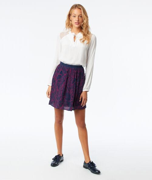 Falda estampada