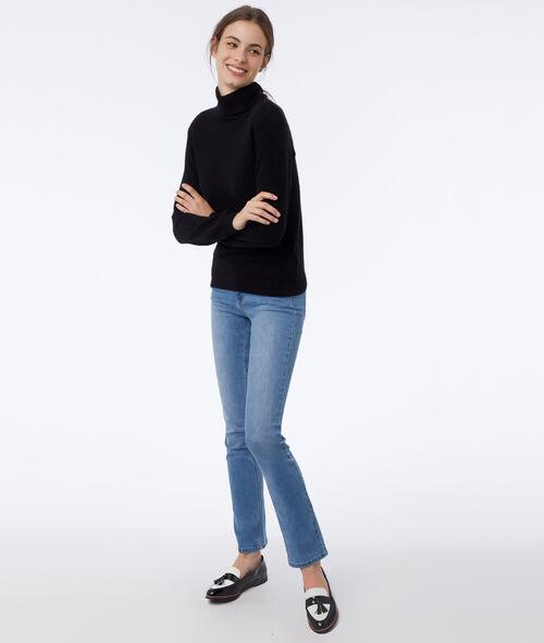 Jersey cuello alto 100% cachemir