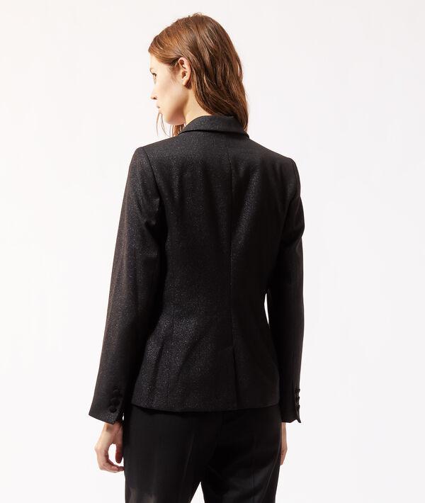 Veste de tailleur pailletée