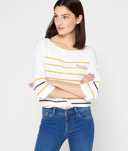 Camiseta marinera 'Frenchie' de algodón orgánico