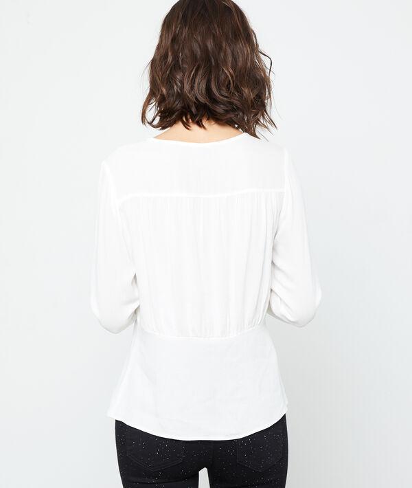 Blusa abotonada