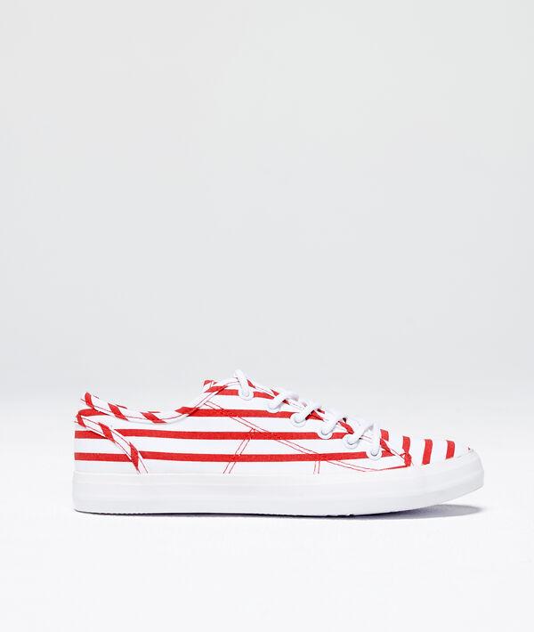 Zapatillas a rayas