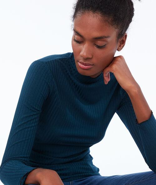 Jersey fino cuello alto