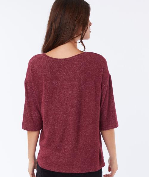 Camiseta detalles guipur