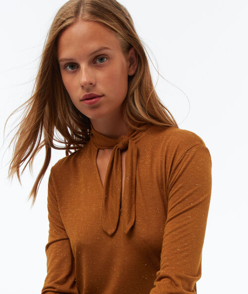 Camiseta manga larga lazada cuello