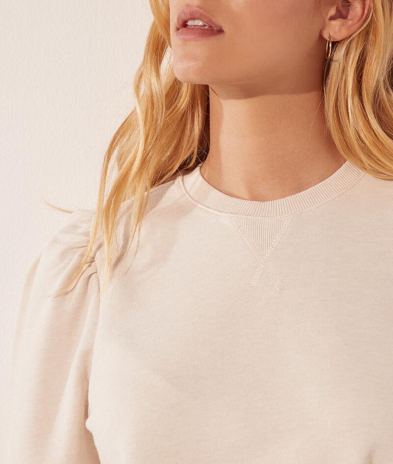 Camiseta mangas abullonadas