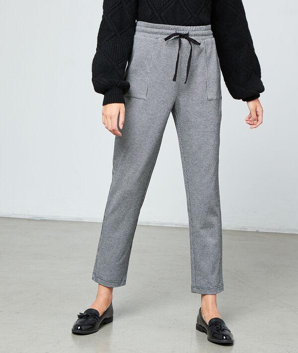 Pantalón estampado Vichy