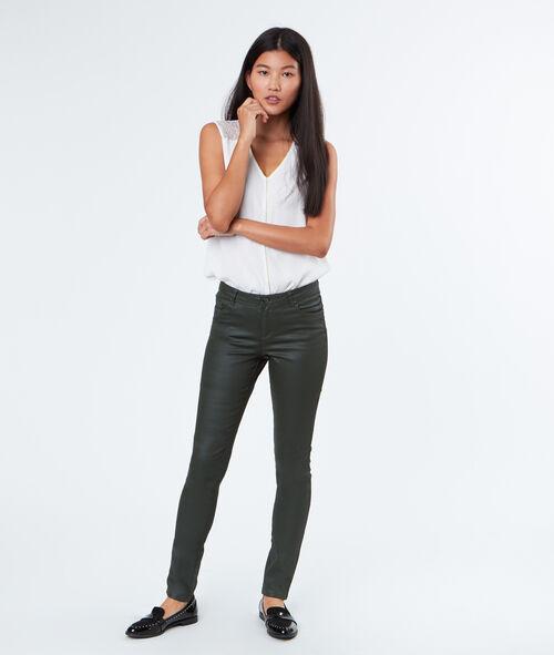 Pantalon slim coton majoritaire