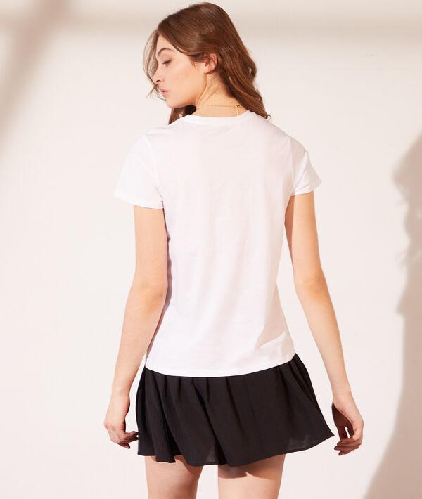 Camiseta lunas con lentejuelas
